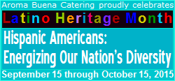Aroma Buena Catering proudly celebrates