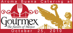 Aroma Buena Catering has the honor of having been requested by the Mexican Consulate of San Francisco to participate in