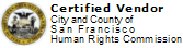 Certified Vendor City and County of San Francisco Human Rights Commission  [Click to view certification  on City and County of San Francisco website.]  San Francisco Catering - AROMA BUENA CATERING - Hispano World Cuisine www.AromaBuena.com
