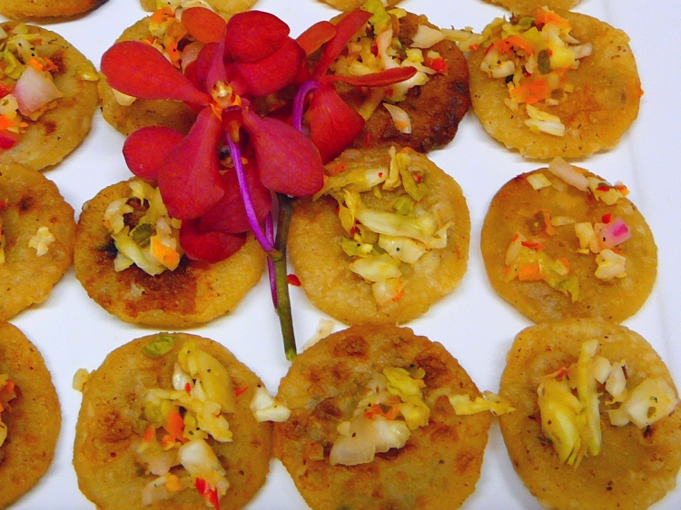Photo: El Salvador - Mini Pupusas.