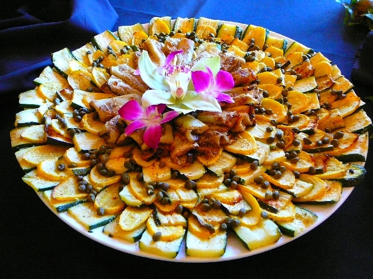 Photo: Grilled Vegetable Platter.