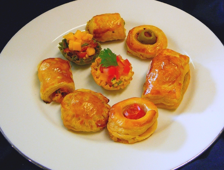 Photo: Assorted Savory Pastries.