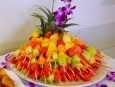 Fruit Skewers.