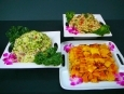 Grilled Pineapple, Potato Salad, Pasta Salad