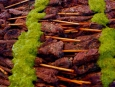 Argentina - Pinchos Argentinos (Grilled Beef Skewers) with